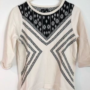 H&M Tribal Embroidered Sweatshirt - Collection